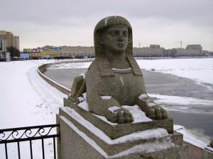 Сфинкс у дачи Кушелева-Безбородко